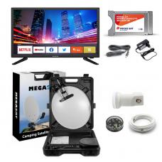 Pachet Camion Focus Sat Smart TV 61cm CI+